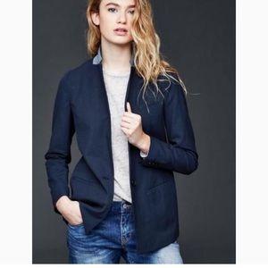 Gap perfect blazer indigo
